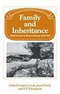 Family & Inheritance Rural Society In We