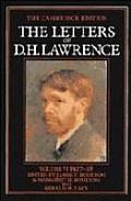 Letters of D. H. Lawrence, Vol. 6: March 1927-Nov. 1928