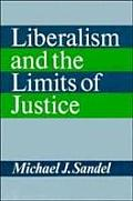 LIBERALISM & LIMITS OF JUSTICE