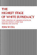 Highest Stage Of White Supremacy The Ori