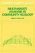 Multivariate Analysis in Community Ecology
