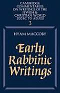 Early Rabbinic Writings
