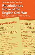 Revolutionary Prose of the English Civil War