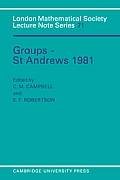 Groups - St Andrews 1981