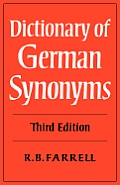 Dictionary Of German Synonyms 3rd Edition