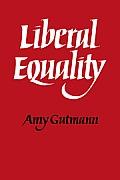 Liberal Equality