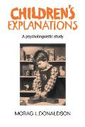 Children's Explanations