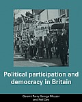 Political Participation and Democracy in Britain
