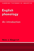 English Phonology: An Introduction (Cambridge Textbooks in Linguistics)