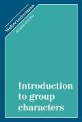 Introduction to Group Characters