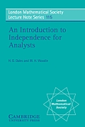 An Introduction to Independence for Analysts