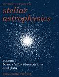 Introduction to Stellar Astrophysics: Volume 1, Basic Stellar Observations and Data Cover