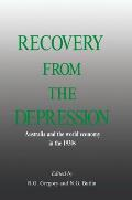 Recovery from the Depression Cover