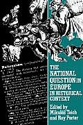 National Question in Europe in Historical Context