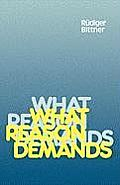 What Reason Demands