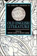 Cambridge Companion to Old English Literature