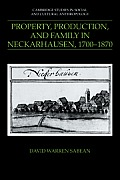 Property, Production, and Family in Neckarhausen, 1700 1870