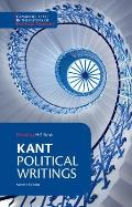Kant: Political Writings (Cambridge Texts in the History of Political Thought) Cover