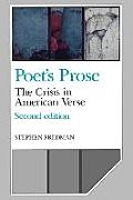 Poet's Prose: The Crisis in American Verse