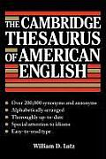 The Cambridge Thesaurus of American English Cover