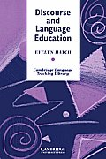 Discourse and Language Education (Cambridge Language Teaching Library) Cover