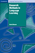 Research Methods in Language Learning (92 Edition)