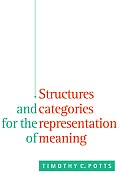 Structures and Categories