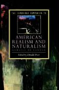 Cambridge Companion to American Realism & Naturalism From Howells to London