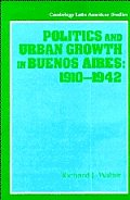 Politics and Urban Growth in Buenos Aires, 1910 1942