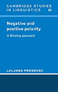 Negative and Positive Polarity: A Binding Approach