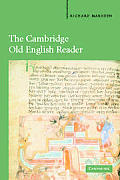 The Cambridge Old English Reader Cover