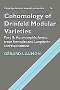Cohomology of Drinfeld Modular Varieties, Part 2, Automorphic Forms, Trace Formulas and Langlands Correspondence