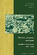 Cambridge Middle East Studies #3: Women, Property and Islam: Palestinian Experiences, 1920-1990