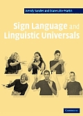 Sign Language and Linguistic Universals Cover