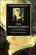 The Cambridge Companion to the French Novel: From 1800 to the Present