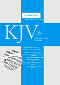 Large Print Text Bible-KJV