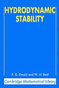 Hydrodynamic Stability 2nd Edition