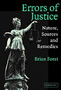 Errors of Justice: Nature, Sources and Remedies