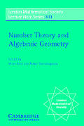 Number Theory and Algebraic Geometry