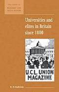 Universities & Elites in Britain Since 1800