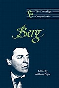 Cambridge Companion to Berg Cover
