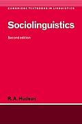 Sociolinguistics 2nd edition