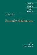 Untimely Meditations