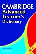 Cambridge Advanced Learners Dictionary 2nd Edition