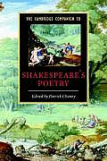 The Cambridge Companion to Shakespeare's Poetry (Cambridge Companions to Literature) Cover