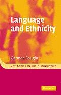 Language and Ethnicity