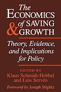 The Economics of Saving and Growth: Theory, Evidence, and Implications for Policy