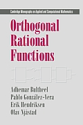 Cambridge Monographs on Applied and Computational Mathematic #05: Orthogonal Rational Functions