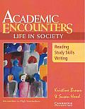 Academic Encounters: Life in Society Student's Book: Reading, Study Skills, and Writing (Academic Encounters)
