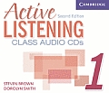 Active Listening 1 Class Audio CDs (Active Listening Second Edition)